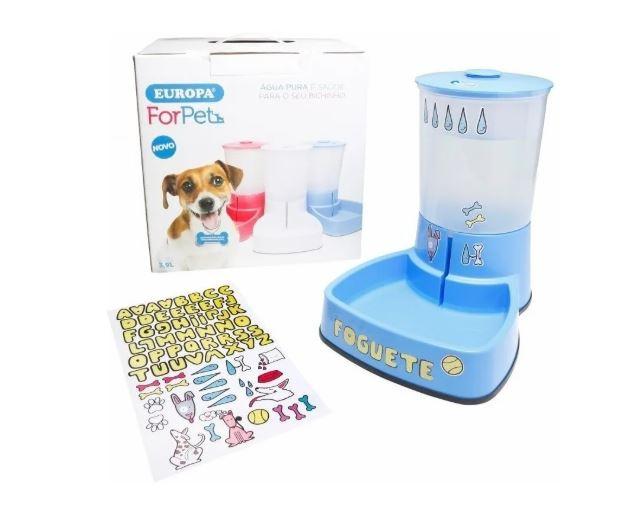 Purificador De Água Europa For Pet C/ Filtro De Troca Fácil