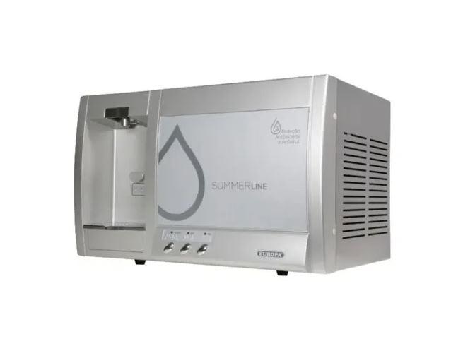 Purificador Europa Summer Line Uvls Hf C/ Filtro Água Gelada