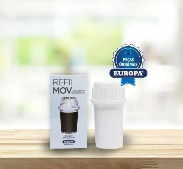 Refil Jarra Europa Mov -purificador De Água- Filtro Original